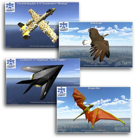 air flying objects