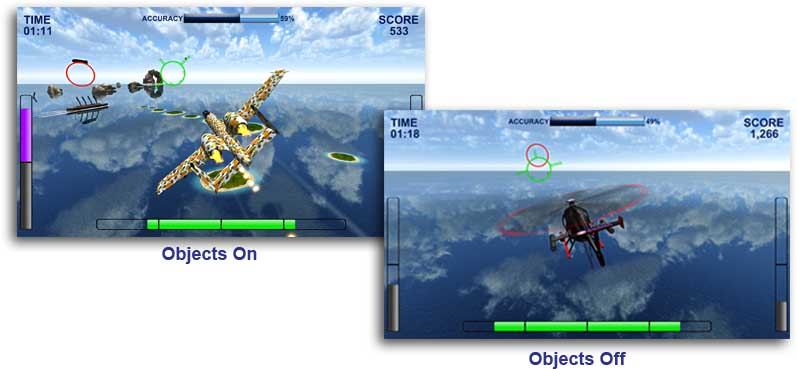 air game object options