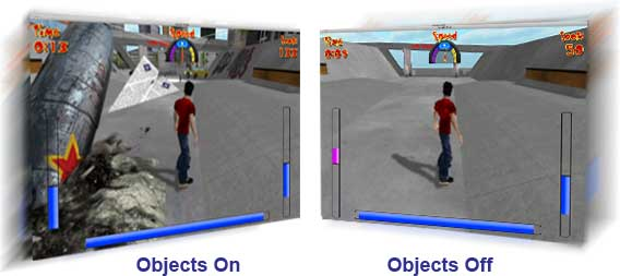 game-object options